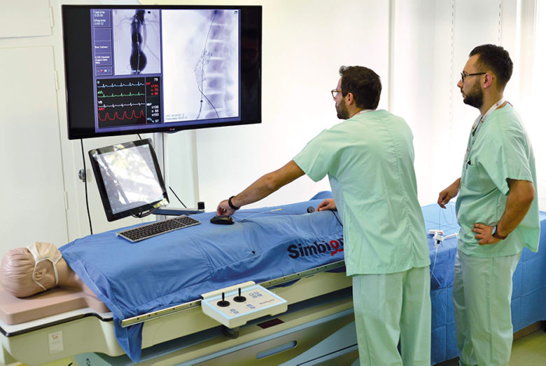 ANGIO Mentor - Simulateur d'intervention Endo-vasculaire
