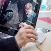U/S Mentor Mannequin femme - Simulateur d'échographie par réalité virtuelle