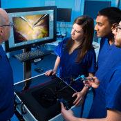 LAP Mentor - simulateur de chirurgie coelioscopique