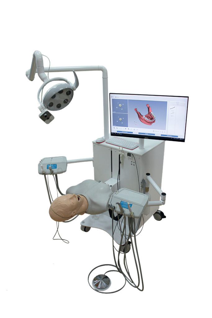 Leonardo Dental - Simulateur hybride de soins dentaires - Twin Medical